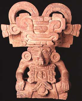 Zapotec Urn Depicting a Deity