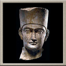 Palmyran Limestone Head of a Priest