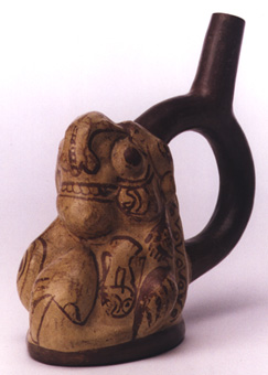 Stirrup Vessel Depicting an Underworld Scene