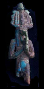 New Kingdom Faience Amulet of Thoth