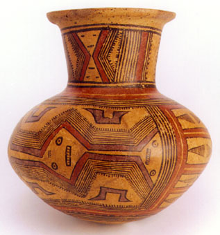 Cocle Polychrome Terracotta Vessel