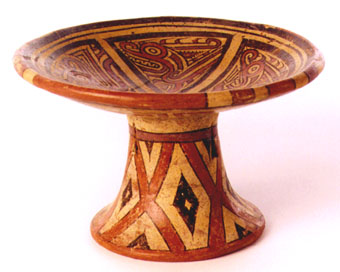 Cocle Pedestal Bowl