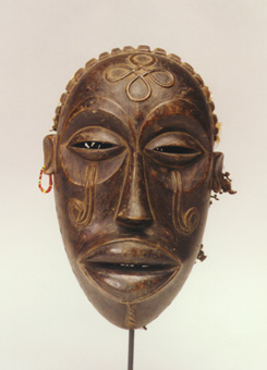 Chokwe Wooden Pwo Face Mask