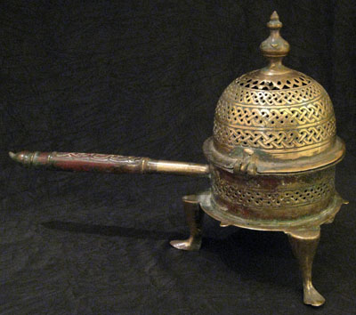 Pierced Incense Burner