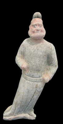 Tang Sculpture of a Foreign Groom