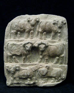 Relief Depicting Animals