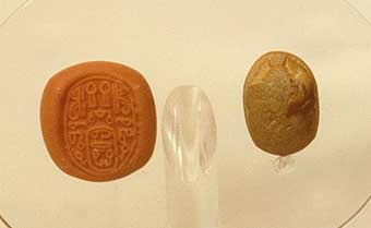 New Kingdom Steatite Scarab