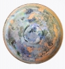 Roman Glass Footed Dish