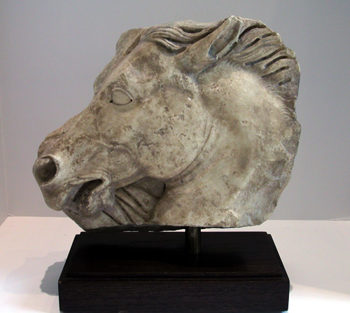 Neo-Classical Marble Sculpture of a Horse Head