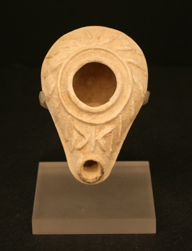 Byzantine Terracotta Oil Lamp
