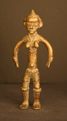 Dan Brass Sculpture of a Woman