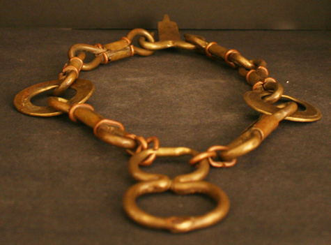Baule Bronze Necklace