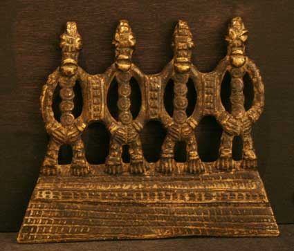 Akan Gold Weight (abrammuo)
