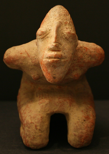 Djenne Terracotta Figure of a Captive