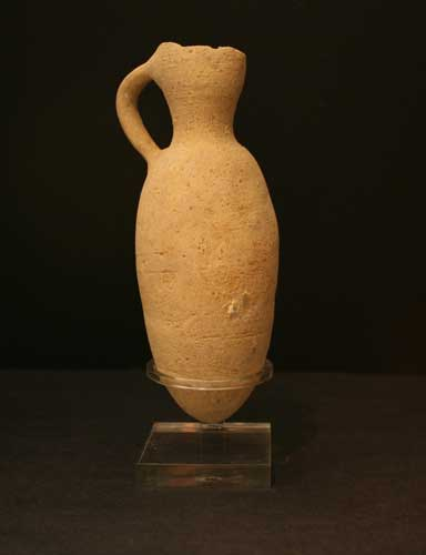 Middle Bronze Age Terracotta Pitcher