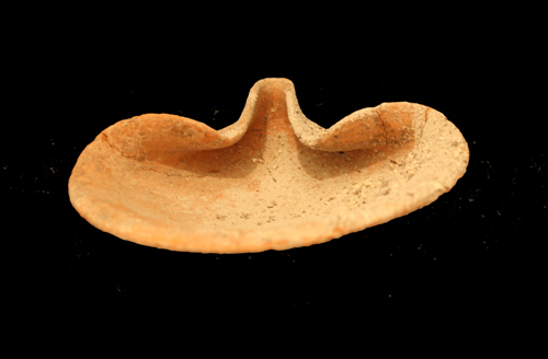 Late Bronze Age Terracotta Oil Lamp