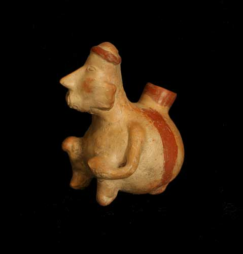 Jalisco Terracotta Anthropomorphic Vessel