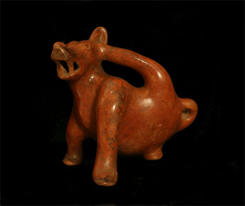 Colima Sculpture of a Dog