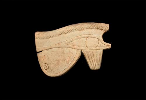 Egyptian Art/Faience Sacred Eye of Horus