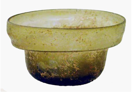 Late Roman Glass Bowl