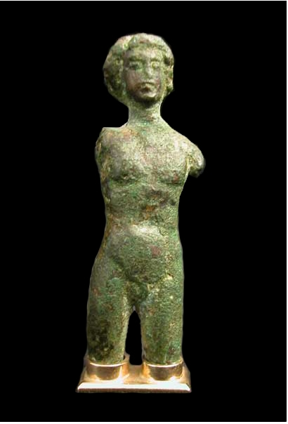 Hellenistic Bronze Sculpture of a Youth