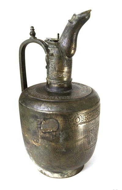 Islamic Bronze Water Jug