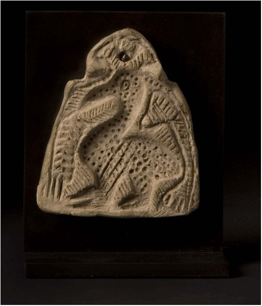 Islamic Terracotta mould Depicting a Bird
