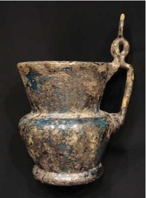 Islamic Glass Pitcher