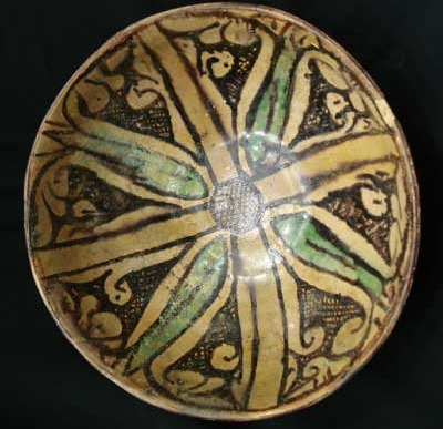 Polychrome Slip Painted Bowl
