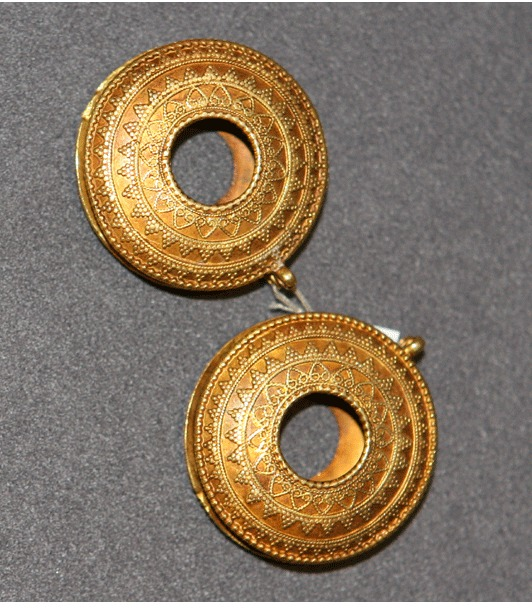 Islamic Gold Hair Ornaments