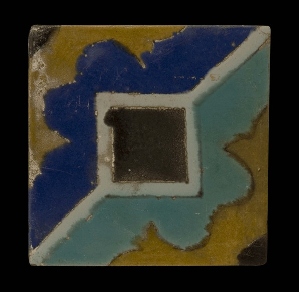 Glazed Polychrome Tile