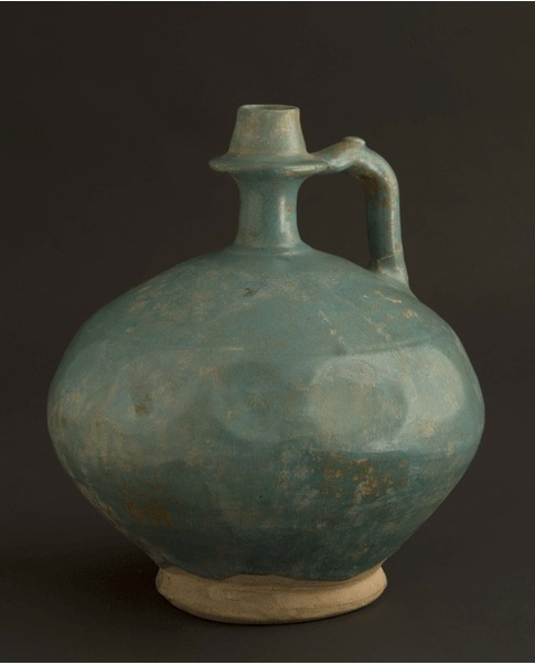 Turquoise Fritware  Jug