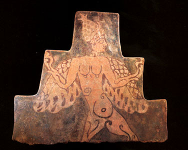 Assyrian Tile Depicting a Mythological Creature
