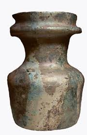 Roman Light Bluish Green Glass Jar