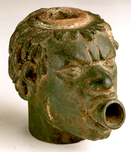 Bronze Sculpture of the Head of an African