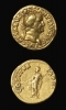Roman Gold Aureus of Emperor Vespasian