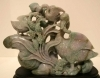Jade Sculpture Depicting Ducks