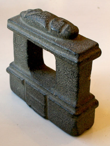 Mezcala Stone Temple Model