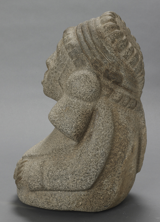 Aztec Stone Sculpture of Chalchiuhtlicue
