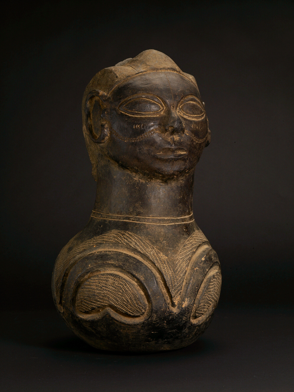 Azande Terracotta Anthropomorphic Vessel