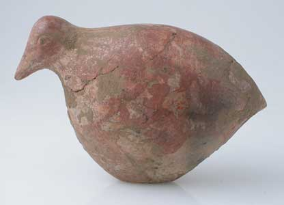 Bird Effigy Votive Seal With An Intaglio