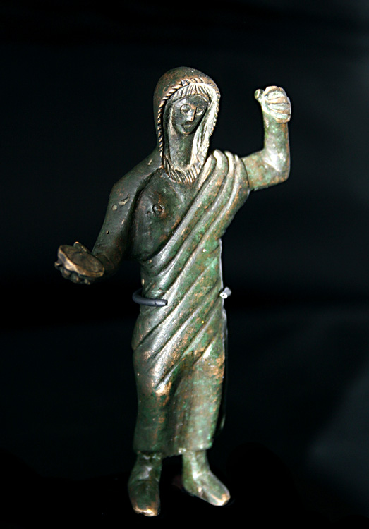 Celtic Bronze Figure