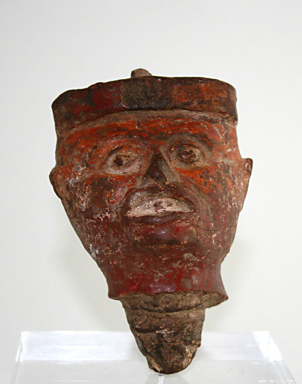 Nayarit Terracotta Head