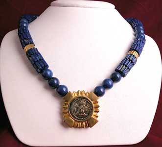 Coin Necklace of the Phoenician City of Tyre