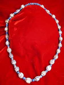 Venetian Glass Trading Bead And Lapis Lazuli Beads
