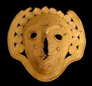 Baule Gold Pendant Head