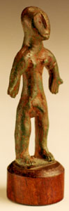Iberian Bronze Votary of a Nude Man