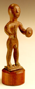 Votive Sculpture Of A  Male Warrior