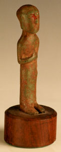 Votive Sculpture Possibly of a Priest