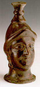 Parthian Furniture Support Depicting the Head of Minerva